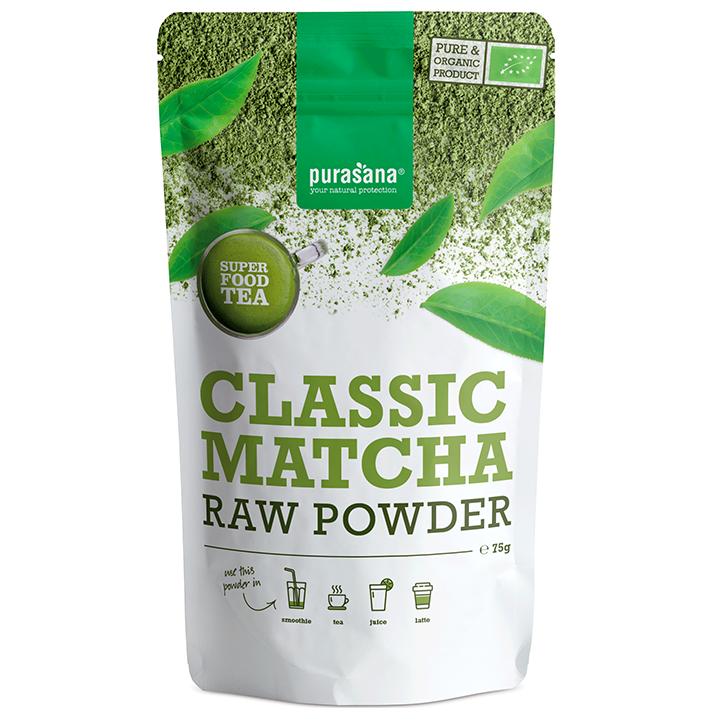 Purasana Classic Matcha Raw Powder (75 gram)