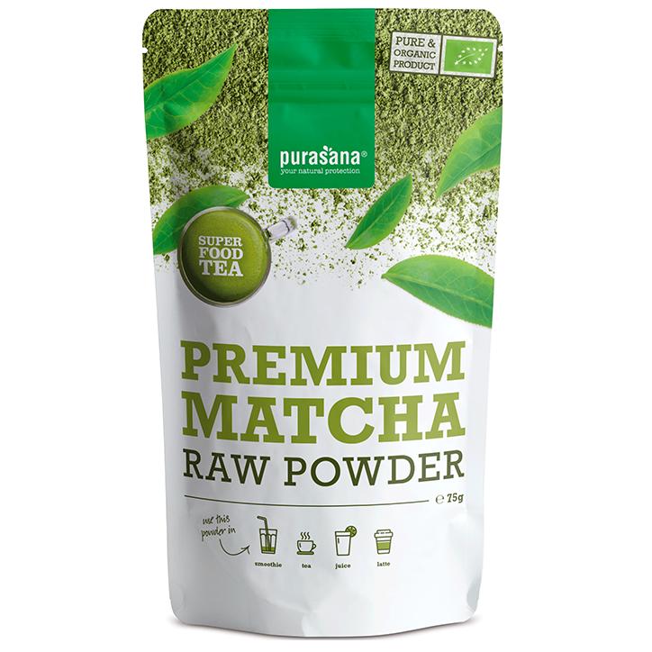 Purasana Premium Matcha Raw Powder (75 gram)