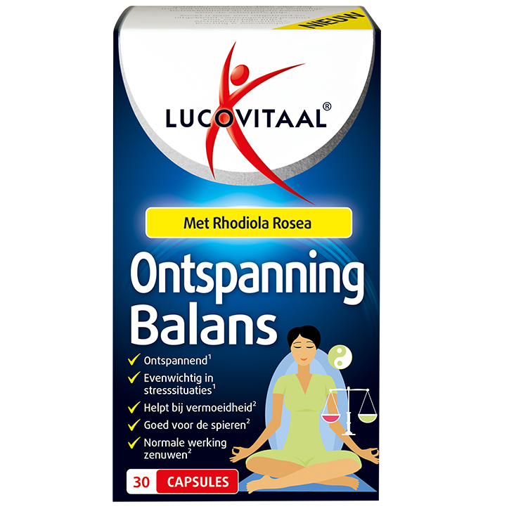 Lucovitaal Ontspanning Balans (30 Capsules)