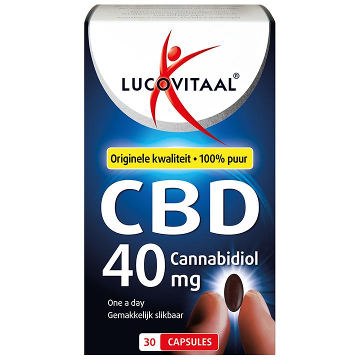 Lucovitaal CBD, 40mg (30 Capsules)