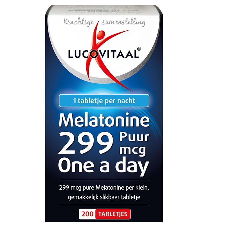 Lucovitaal Melatonine Puur, 0,299mg (200 Tabletten)