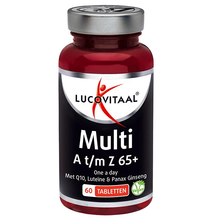 Lucovitaal Multi A-Z 65+ (60 comprimés)