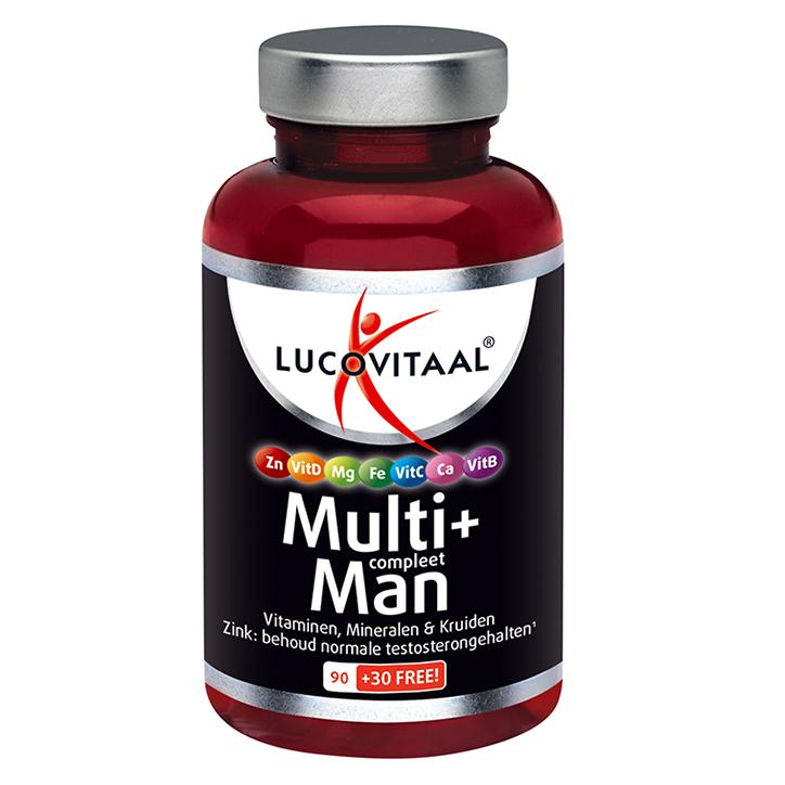 Lucovitaal Multi+ A-Z Man (120 Tabletten)
