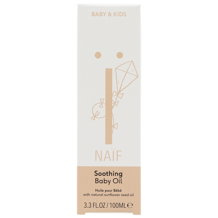 Naïf Soothing Baby Oil (100ml)
