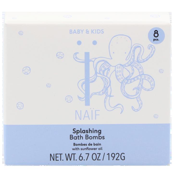 Naïf Splashing Bath Bombs (192gr)