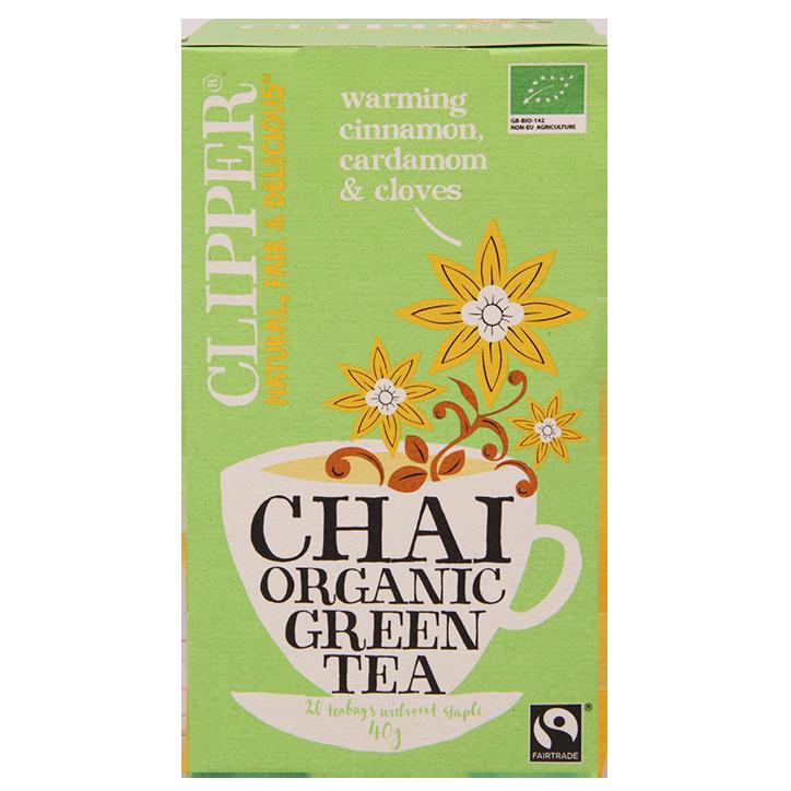 Clipper Chai Organic Green Tea (20 Theezakjes)