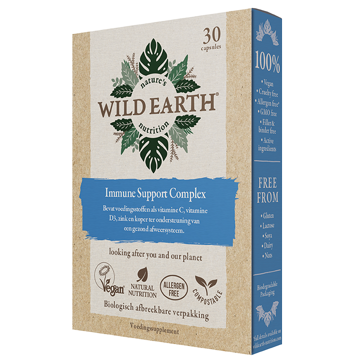 Wild Earth Immune Support Complex 30 Capsules