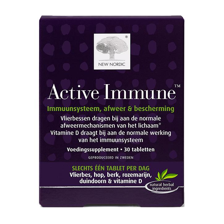 New Nordic Active Immune (30 tabletten)