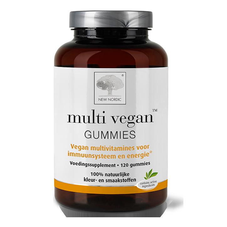 New Nordic Multi Vegan Gummies (120 Gummies)