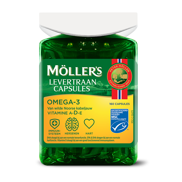 Möllers Levertraan Capsules (160 capsules)
