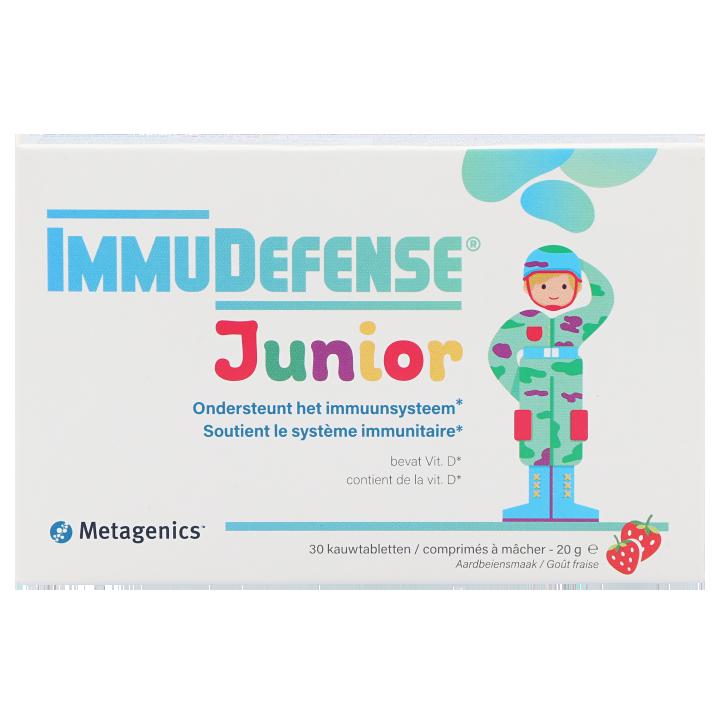 Metagenics ImmuDefense Junior (30 Kauwtabletten)