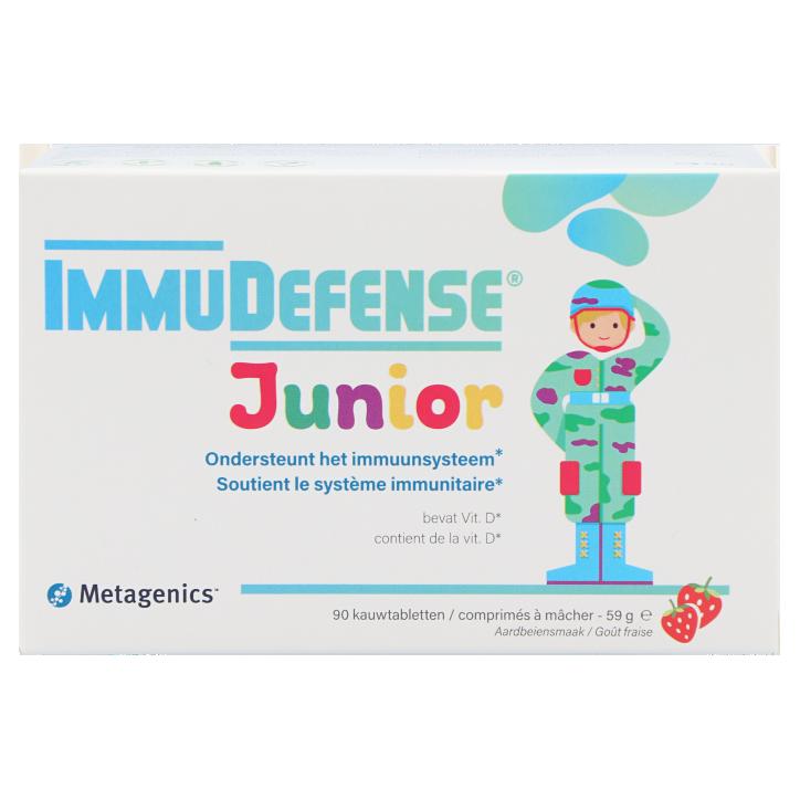 Metagenics ImmuDefense Junior (90 Kauwtabletten)