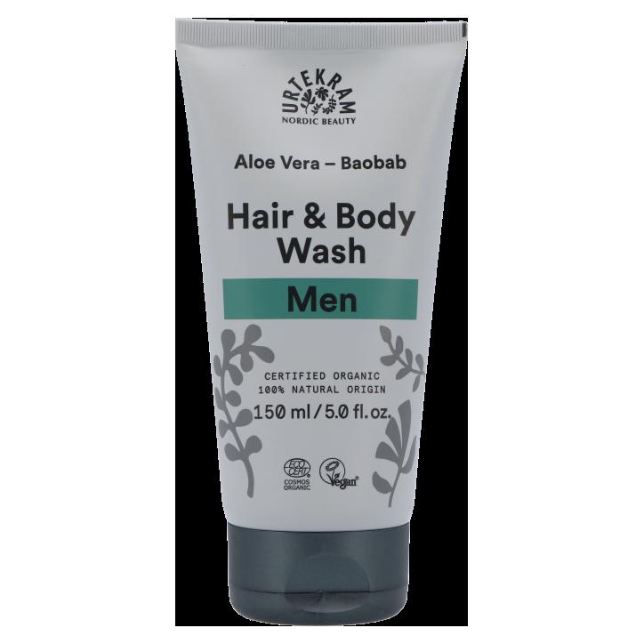 Urtekram Hair & Body Wash Men (150 ml)