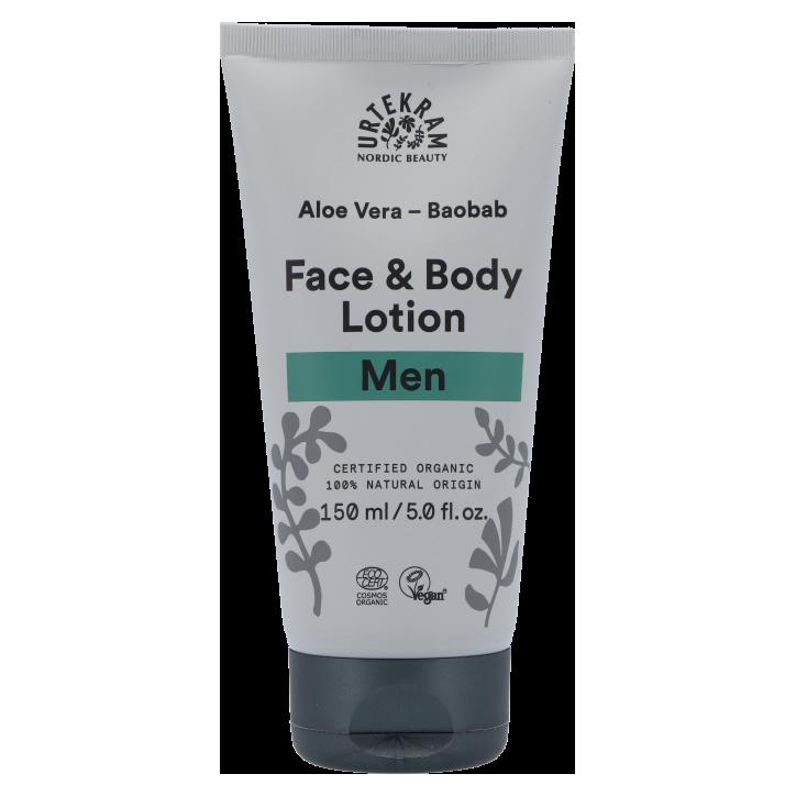 Urtekram Face & Body Lotion Men (150 ml)