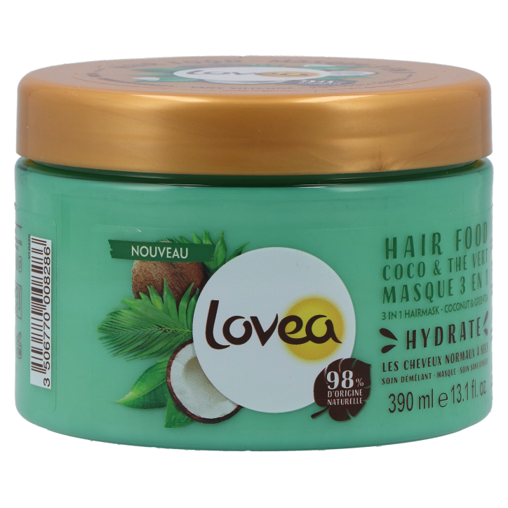 Lovea Masque 3 en 1 coco & thé vert (390 ml)