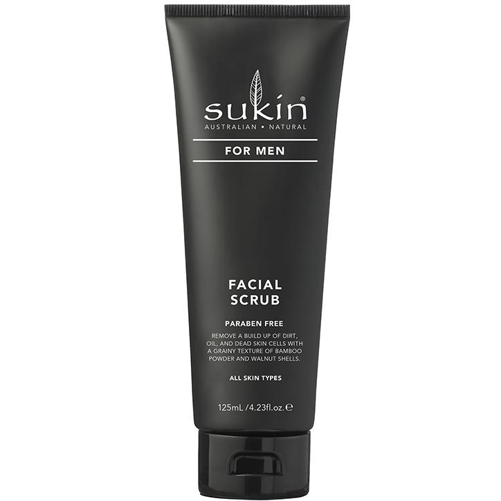Sukin For Men Facial Scrub (125ml)