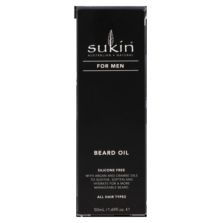 Sukin For Men Beard Oil (50ml)