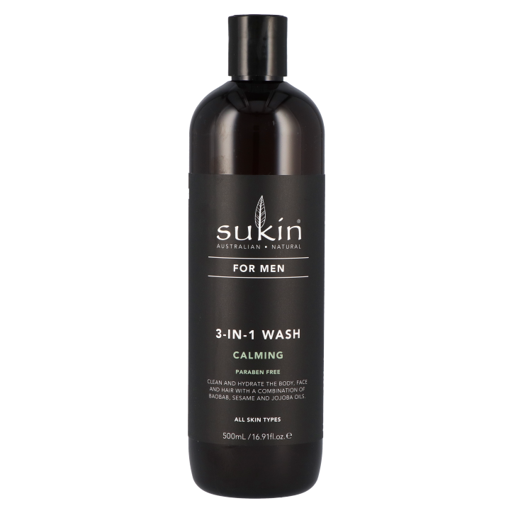 Sukin For Men 3-in-1 Wash Calming (500ml)