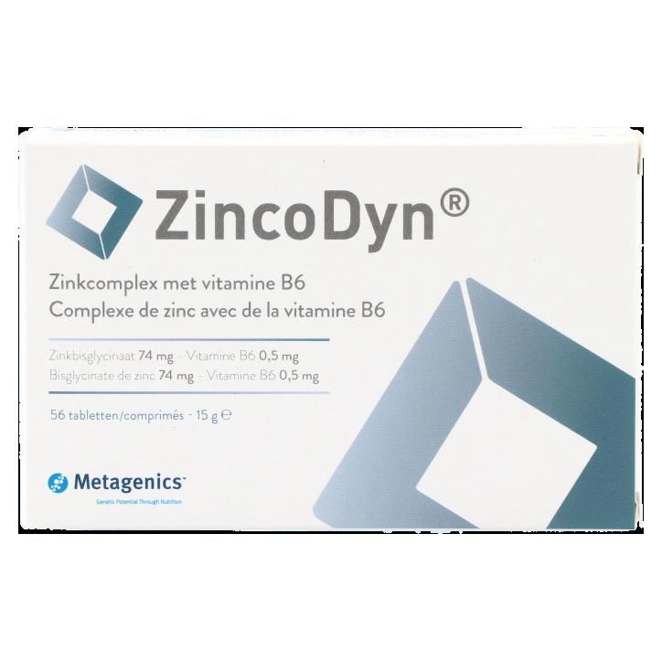 Metagenics ZincoDyn Zinkcomplex Met Vitamine B6 (56 tabletten)