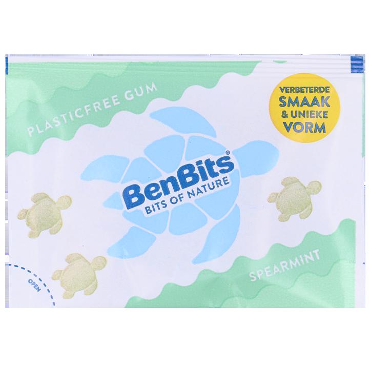BenBits Smooth Fresh Spearmint Chewing Gum (16,8 gram)