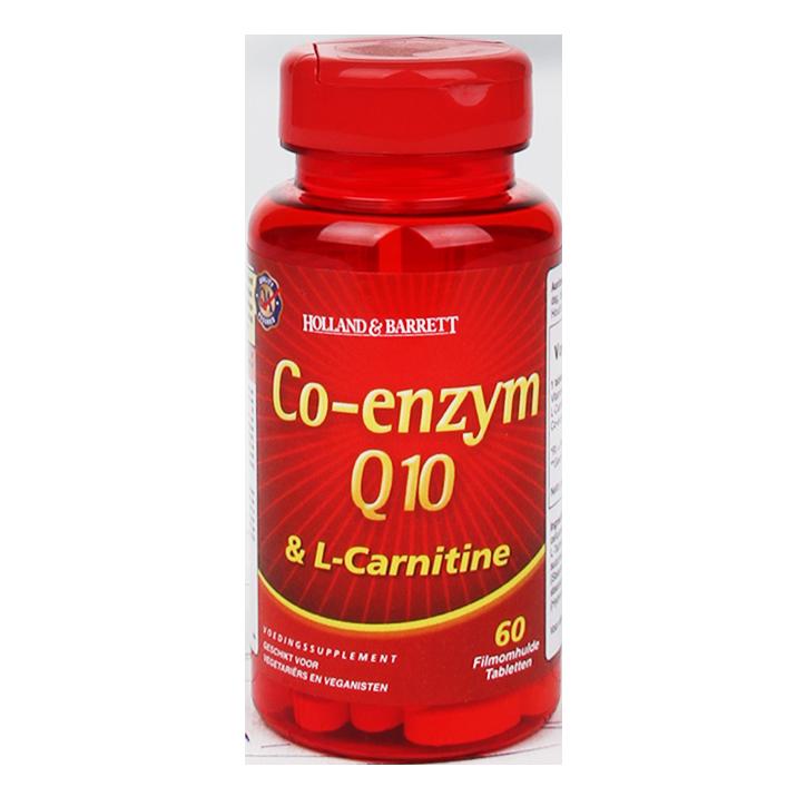 Holland & Barrett Co-Enzym Q10 Met Carnitine