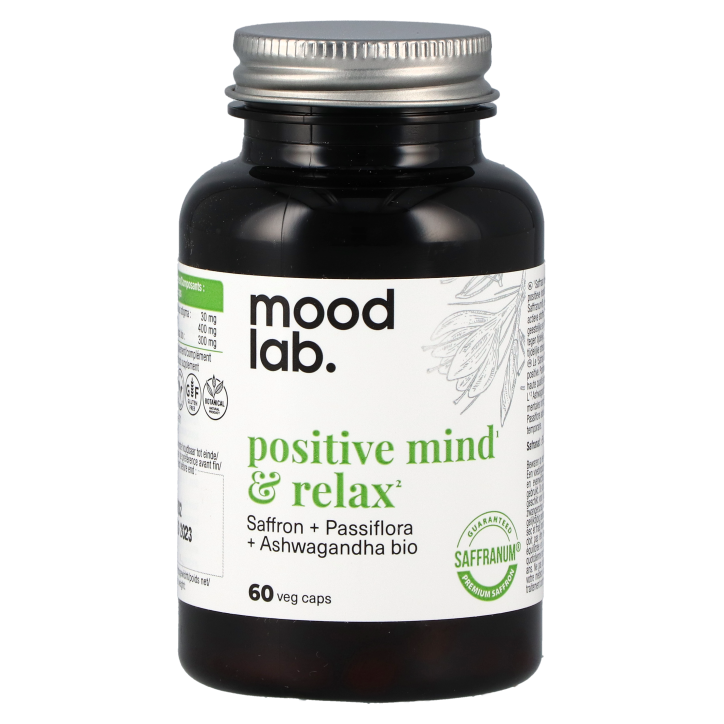 Moodlab Positive Mind & Relax (60 capsules)
