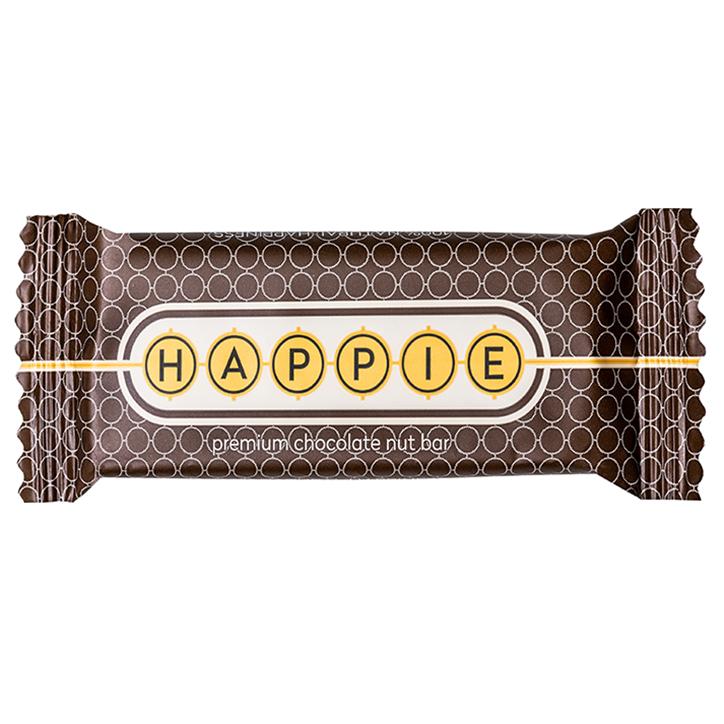 HAPPIE Premium Chocolate Nut Bar (50gr)