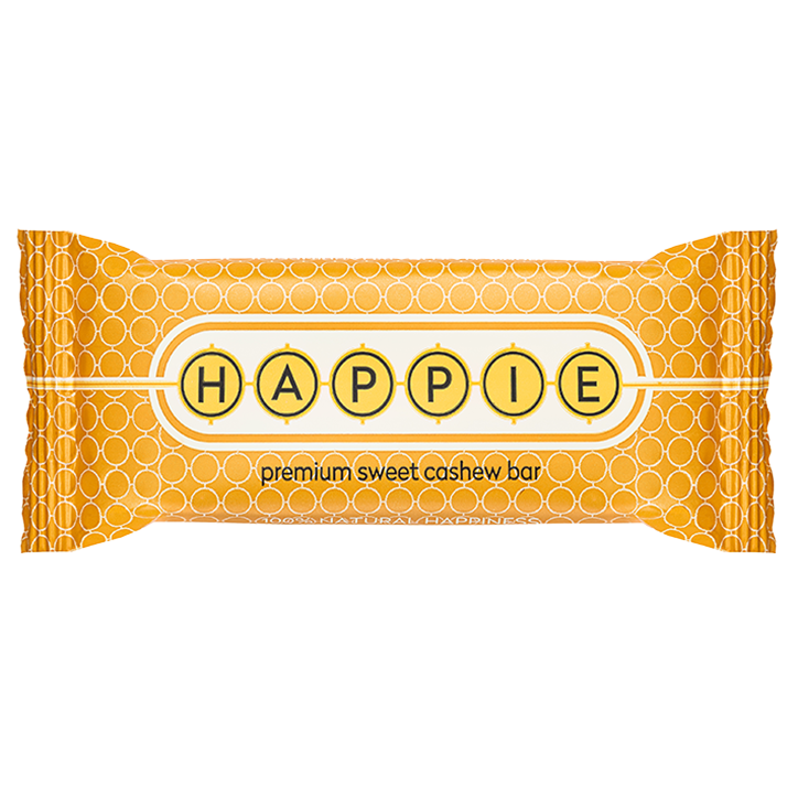 HAPPIE Premium Sweet Cashew Bar (50gr)