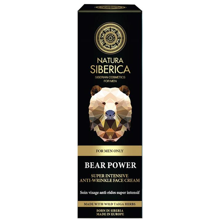 Natura Siberica For Men Crème anti-rides pour le visage (50 ml)