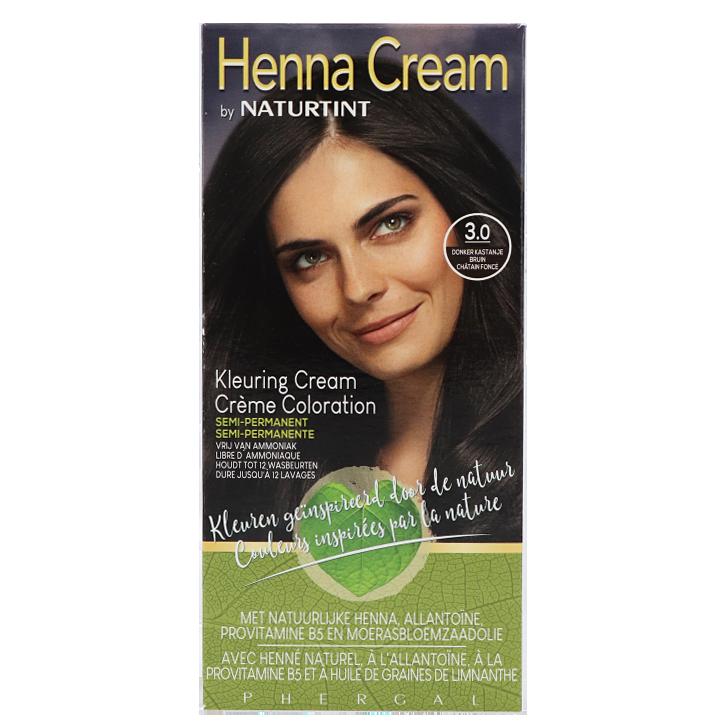 Naturtint Henna Cream 3.0 Donker Bruin