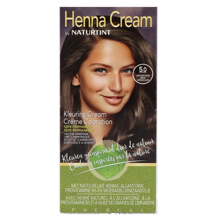 Naturtint Henna Cream 5.0 Licht Bruin