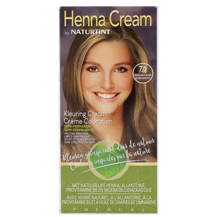 Naturtint Henna Cream 7.0 Hazelnoot Blond