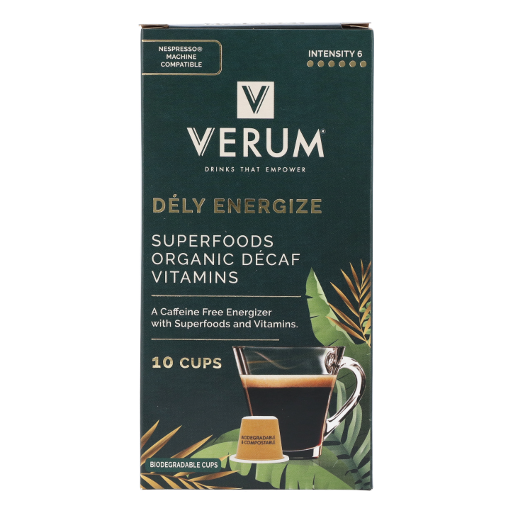 Verum Dely Energize Koffie (10 cups)