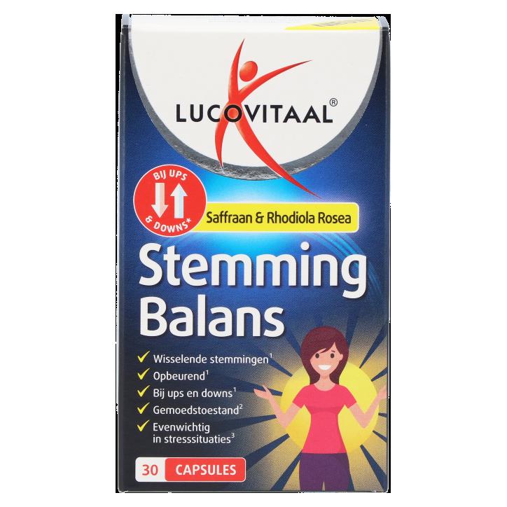Lucovitaal Stemming Balans (30 capsules)
