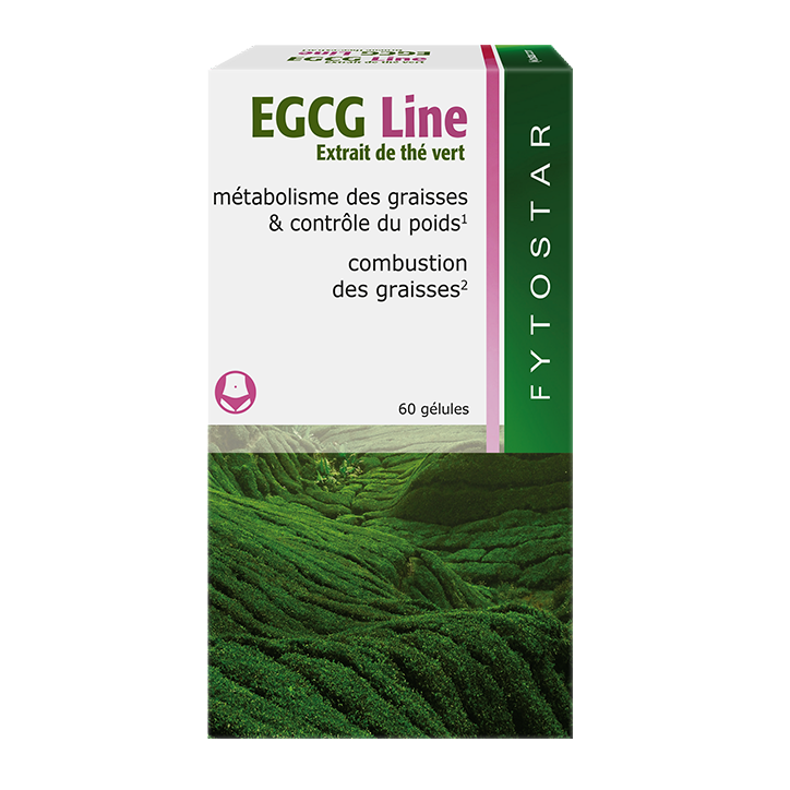 Fytostar EGCG Line Groene thee-extract (60 capsules)