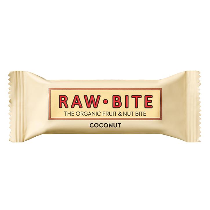 RAWBITE fruit & notenreep Coconut (50gr)