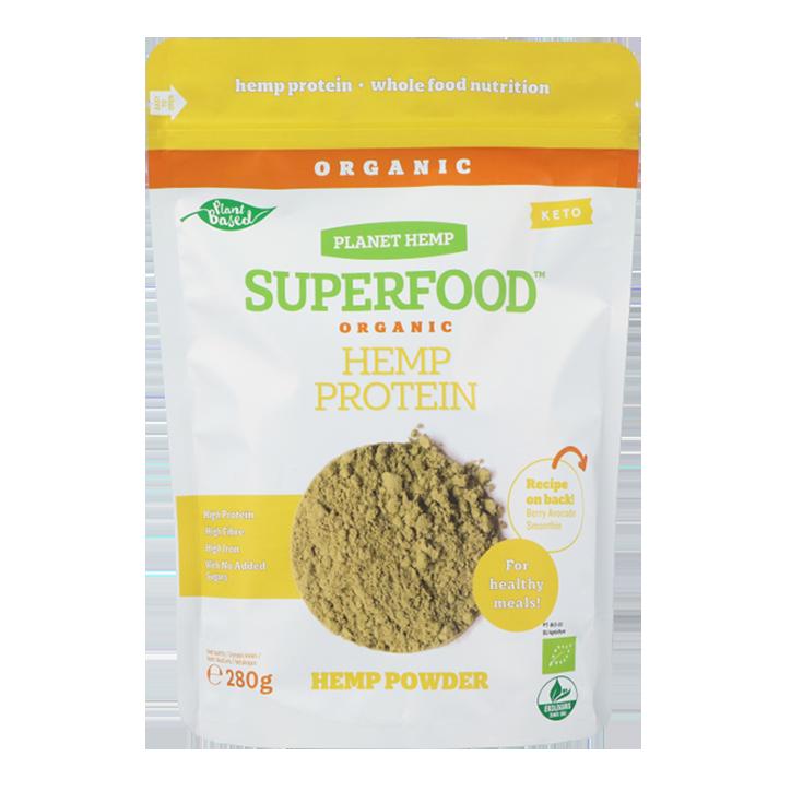 Planet Hemp Superfood Organic Hemp Protein (280gr)