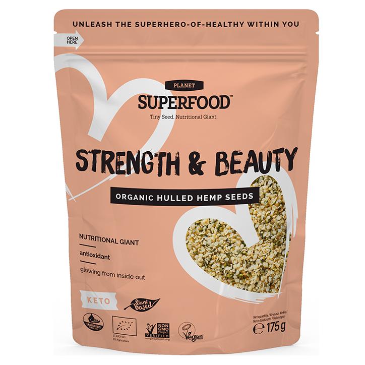 Planet Hemp Superfood Organic Hemp Seeds (175gr)