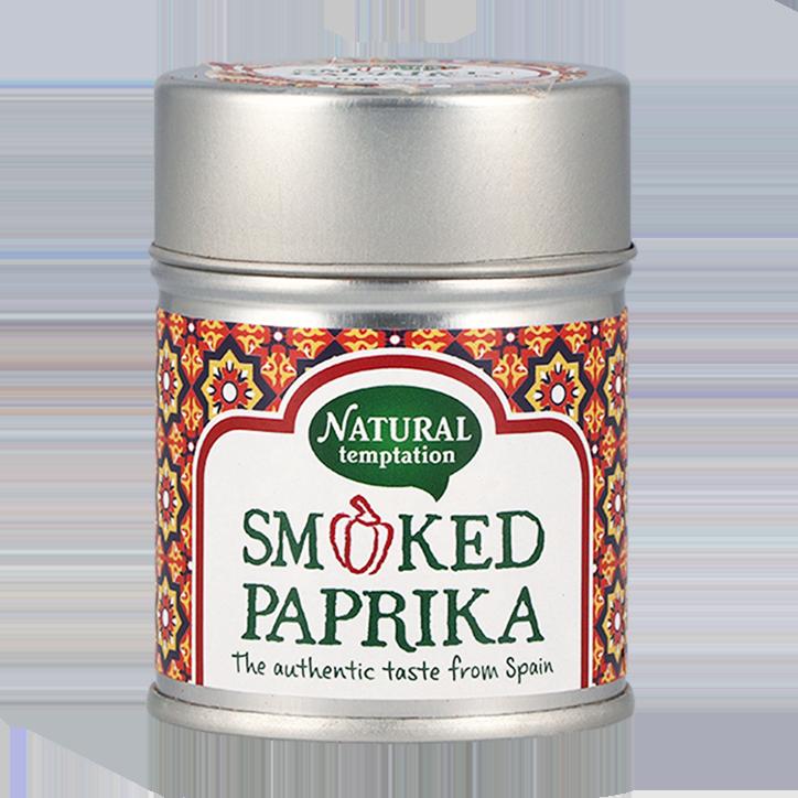 Natural Temptation Smoked Paprika Bio (50gr)