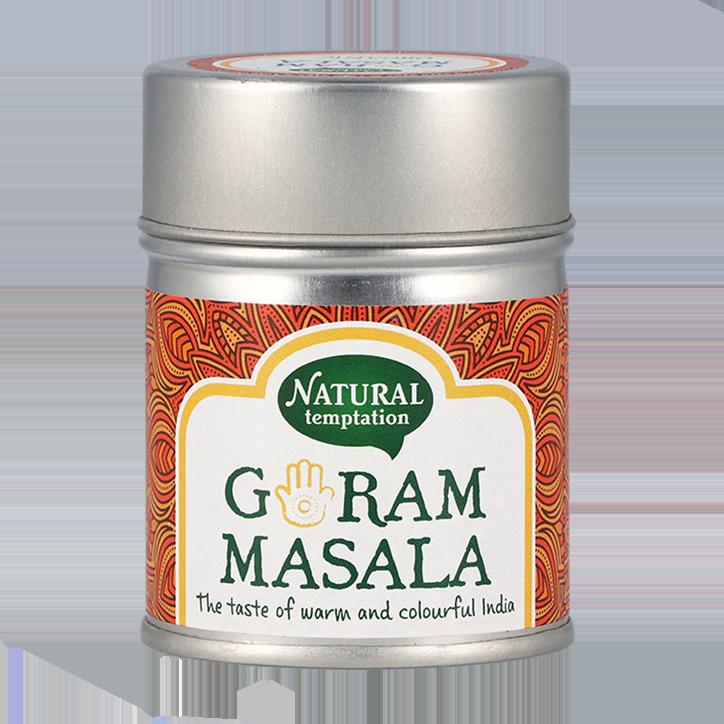 Natural Temptation Garam Masala Bio (50gr)