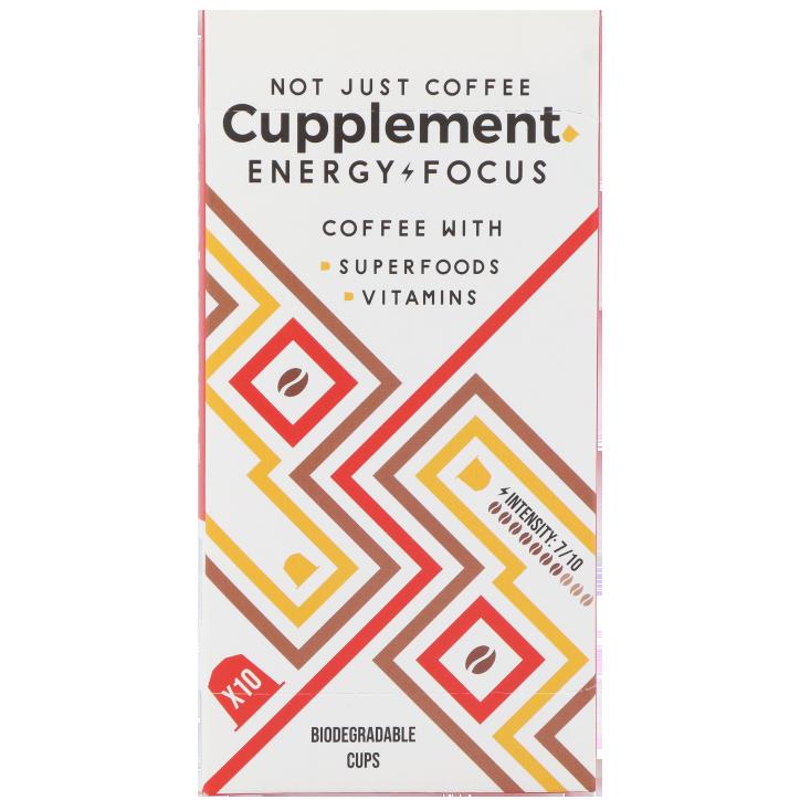 Cupplement Vitamin Coffee Energy Focus Lungo (10 cups)