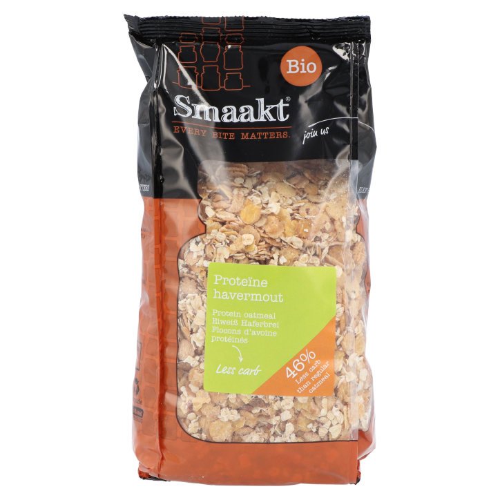 Smaakt Less Carb Proteïne Havermout (500gr)