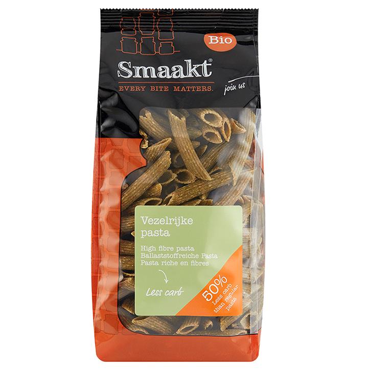 Smaakt Less Carb Vezelrijke Pasta Bio (vervanger Atkins)