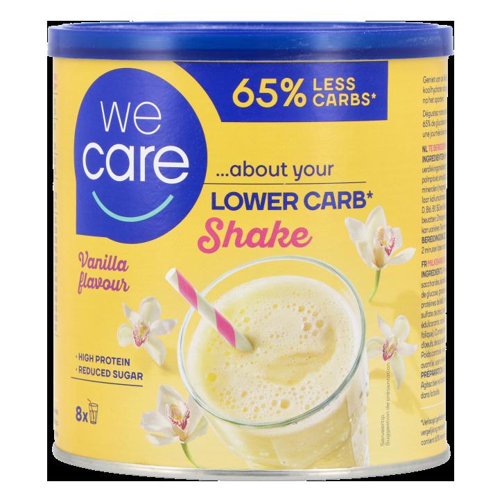 WeCare Lower Carb Shake Vanilla flavour (240gr)
