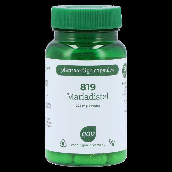 AOV 819 Mariadistel 225mg extract (90 Capsules)