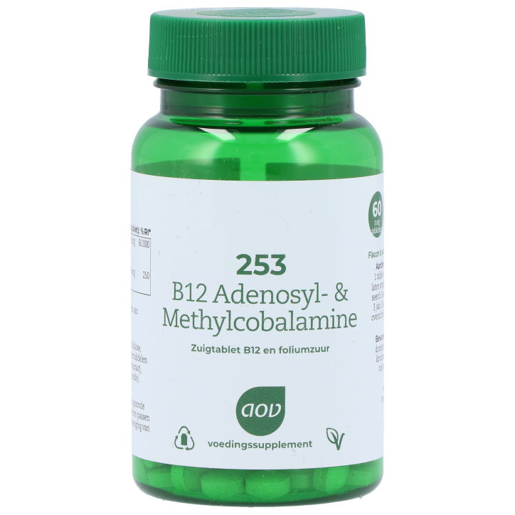 AOV 252 B12 Adenosyl & Methylcobalamine (60 Tabletten)