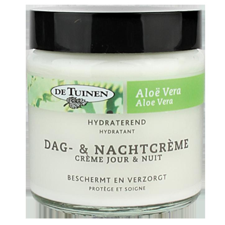 De Tuinen Aloe Vera Dag En Nachtcrème 120ml