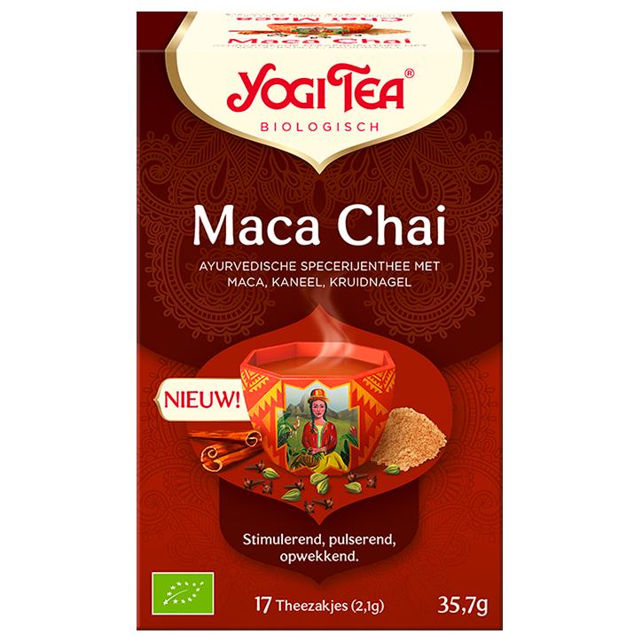 Yogi Tea Maca Chai Bio (17 theezakjes)