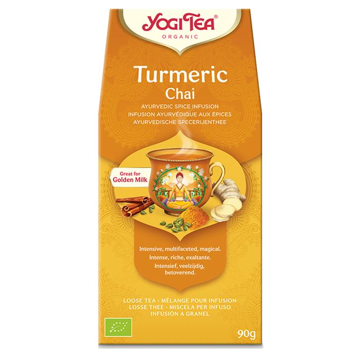 Yogi Tea Tumeric Chai Bio (90gr)