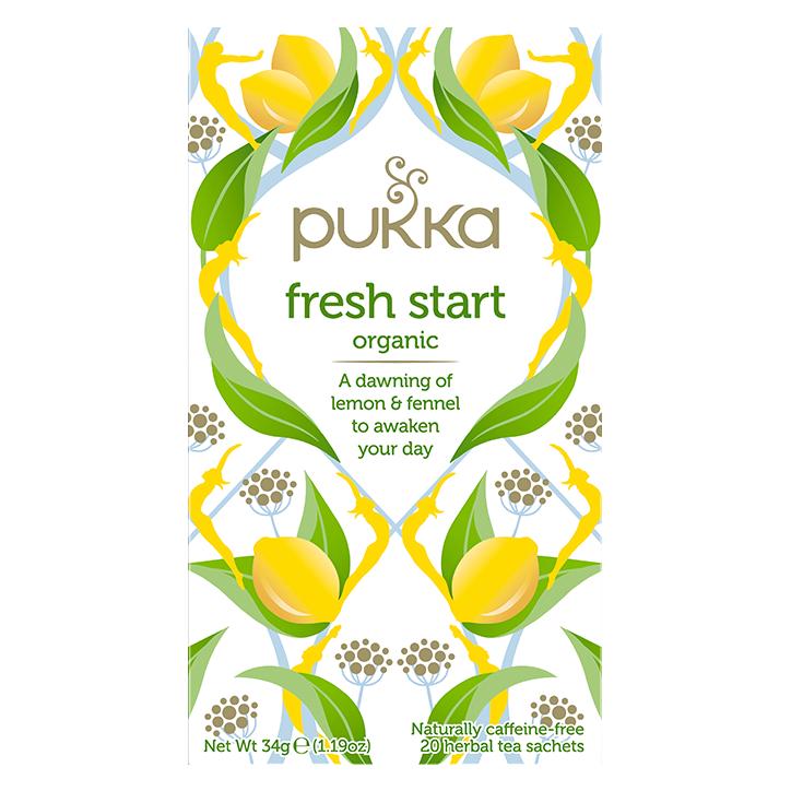 Pukka Fresh Start Organic Bio (20 zakjes)